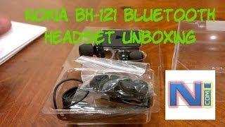 Nokia BH-121 Bluetooth Headset Unboxing