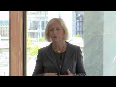 Bundesforschungsministerin Johanna Wanka at Berlin Climate Conference 2015