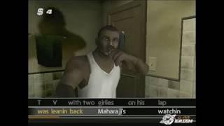 Get On Da Mic PlayStation 2 Gameplay - Rock the bathroom