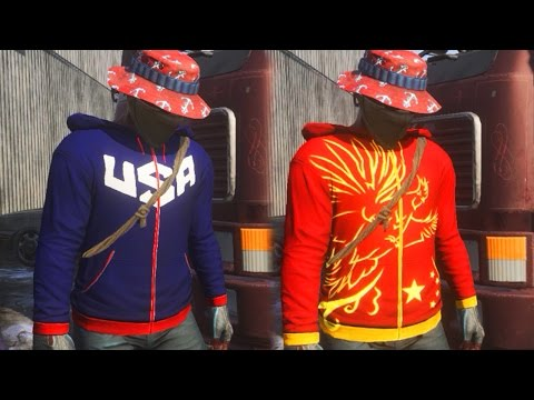 BRAND NEW SECRET SKINS COMING TO H1Z1! New Country Hoodie Skins in H1Z1 (USA Hoodie)
