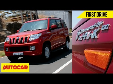 Mahindra TUV300 mHawk100 | First Drive | Autocar India