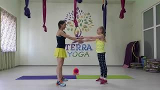 ДЕТСКИЙ ПАРНЫЙ ФИТНЕС. Children's fitness