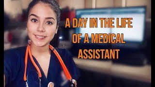 A DAY IN THE LIFE OF A MEDICAL ASSISTANT | PART 1 | SHARLENE COLON