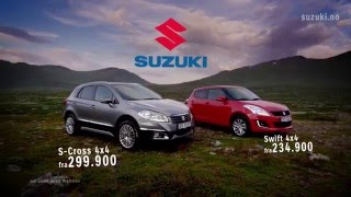 Suzuki S-Cross og Swift med kampanjepakker
