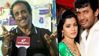 Vishal Father GK Reddy Interview: Why is Vishal avoiding marriage | Actress Varalakshmi
