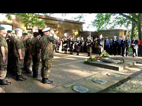 """""""Ich Hatt' Einen Kameraden"""" in Langemarck German Miltary Cemetery in Flanders Fields"""