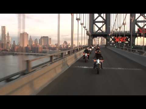 Harley-Davidson Electric Bikes Roll Into New York City