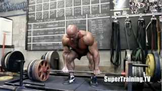 Stan Efferding 765 x 2 Deadlift | Mark Bell Commentary | SuperTraining.TV