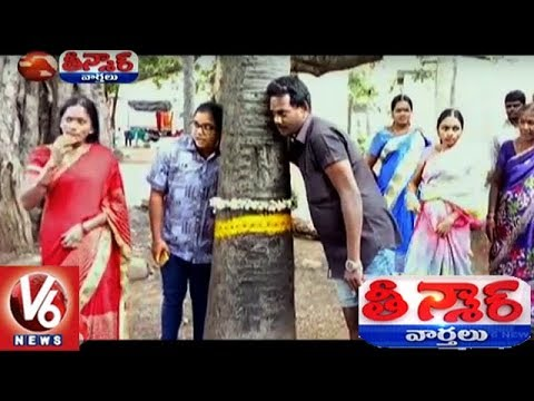 Variety Sound Comes From Tree In Kondagattu Village | Teenmaar News | V6 News