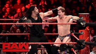 Download Roman Reigns vs. Chris Jericho - United States Championship Match: Raw, Jan. 23, 2017 3Gp Mp4