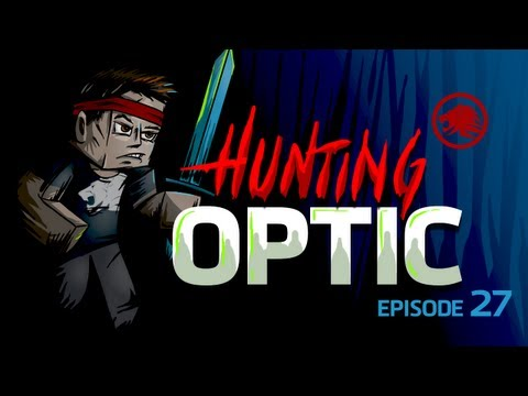 Minecraft: Hunting OpTic THEY FOUND MY BASE Episode 27