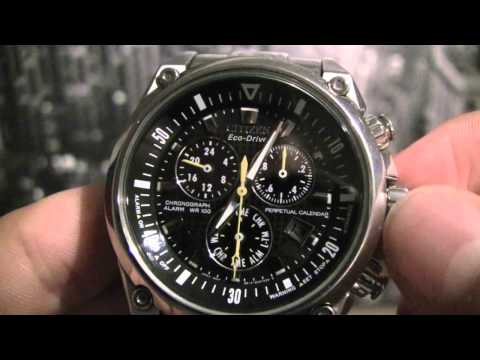 Citizen Chronograph Date Adjustment (HD)