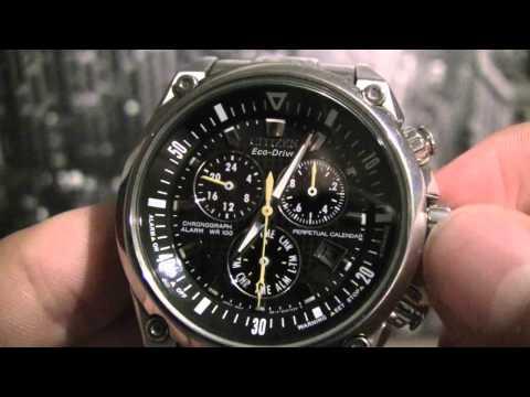 Citizen Chronograph Date Adjustment (HD)