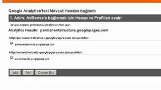 Demo: AdSense ve Analytics