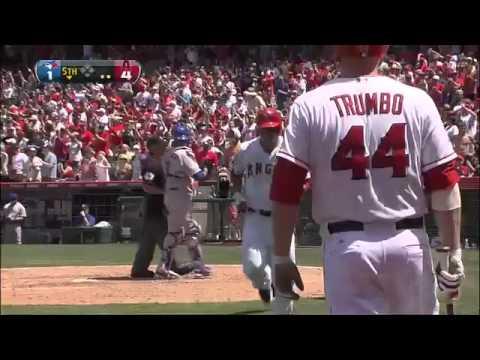 Albert Pujols First Home Run as an Angel