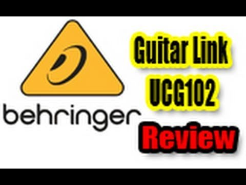 Behringer Guitar Link UCG102 Review (Bass Demo)