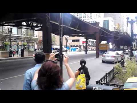 Dhoom Movie Set in Chicago - Motorcycle Chase