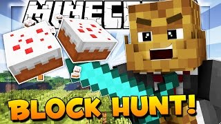 Minecraft Hide And Seek - CAKE DESTRUCTION! (Block Hunt)