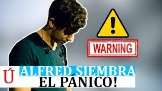 IMPACTANTES IMÁGENES  Alfred García preocupa después de aparecer en directo   Operación Triunfo