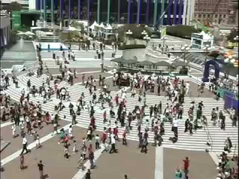 Michael Jackson Tribute - Montreal July 27 (flashmob) video