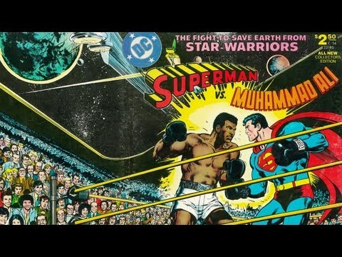 SUPERMAN VS. MUHAMMAD ALI - NEAL ADAMS at Comic-Con - Hero Complex: The Show - Part 2