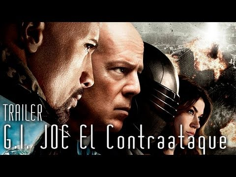 NUEVO TRAILER G.I. Joe El contraataque (G.I. Joe Retaliation) HD subtitulado