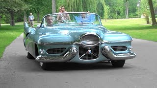 LeSabre Concept car comes to life, driving around