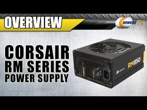 CORSAIR RM Series Power Supply Overview - Newegg TV