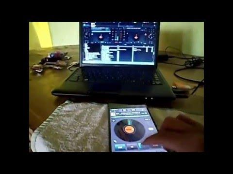 Virtual DJ Remoto (instalación+cambio de skin de la APK ANDROID, USAR DOS DECKS DJ) Virtual DJ 8