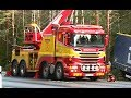 Scania Boniface Rotator Truck - Heavy Recovery of Semi Trailer - Sweden