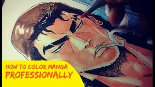 Download Lagu Coloring Manga Using Copic Markers (Pro) Gratis STAFABAND