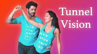 Wow! A Totally Improvised Zouk Dance by Anderson Mendes & Brenda Carvalho - Tunnel Vision - I