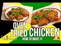 Thanksgiving day How To Make Oven Fried Chicken Recipe BY  | Chef Ricardo Cooking