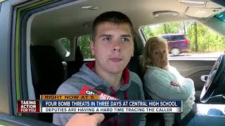 Fourth bomb threat in three days at Central High School in Hernando County