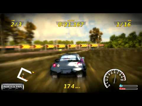 Flatout 3: Chaos &amp; Destruction Gameplay (PC HD)