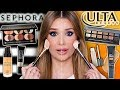 SEPHORA vs ULTA Full Face Comparison! ...What