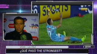 [VIDEO EN NM]¿Qué paso #TheStrongest? #Bolivar lo goleó 4 a 1 y su técnico responde en NM