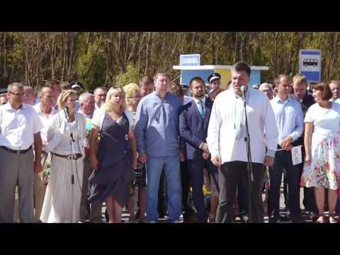"""Виступ Олега Тягнибока біля меморіалу """"Конотопська битва"""""""