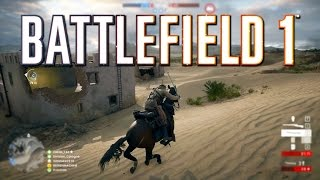Battlefield 1: Cavalry Gameplay on Suez Conquest