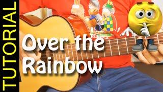 Como tocar Over The Rainbow en Guitarra