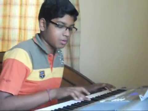 Rabindrasangeet-prano bhoriye trisha horiye (instrumental) played...