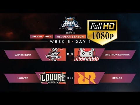🔴[LIVE MPL- FULL HD 1080P] LOUVRE VS RRQ.O2 | MPL-ID S2 Regular Season Minggu 5 Hari 1