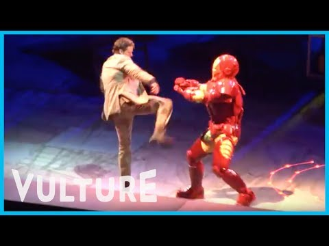 Marvel Universe Live! Exclusive Footage