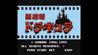[ENDURANCE TEST] Castlevania NES (6-ALL/Stage 99) by Yace