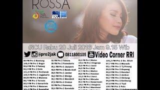 download lagu Rossa - Icu Pro2 Rri Jakarta  Live  gratis