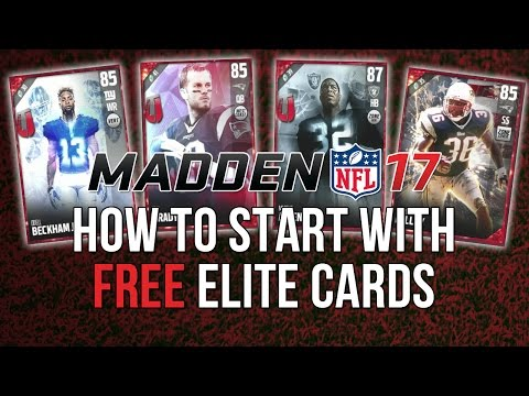 Madden 17 Ultimate Team-Starter Video!Getting Free Elite players to start!-Madden 17 Ultimate Team