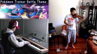 Pokémon Red & Blue - Trainer Battle Theme (Violin & Piano) ft. 8Amaterasu8