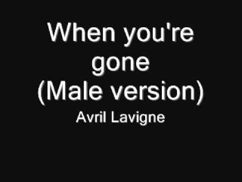 Avril Lavigne - When Youre Gone (male Version) video