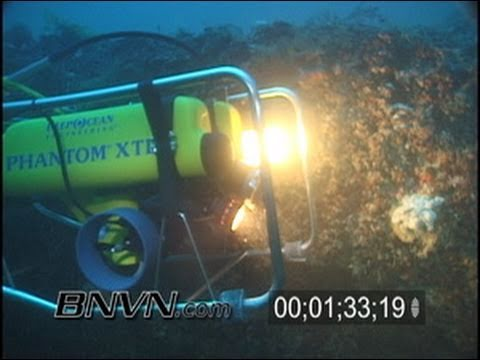 8/24/2001 Gulf of Mexico Green Banana Sink And Research ROV video