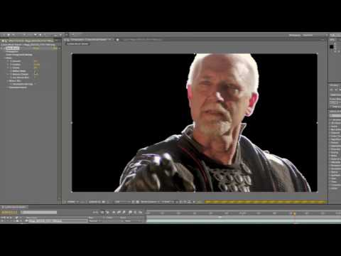 Adobe After Effects CS5- Rotoscope with Rotobrush